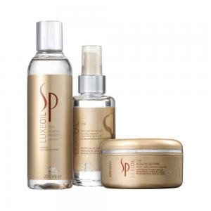 SP System Professional Kit Luxe Oil Keratin Trio